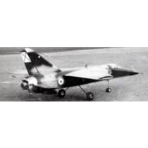 DASSAULT MIRAGE F1 (Spannweite 860 mm)