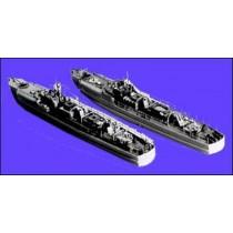 SCHNELLBOOT S-100. Kriegsmarine bis 1945 ( 2 Modelle)