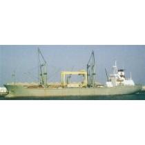 BRAUNFELS. Frachtschiff der DDG Hansa.