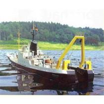 BREMERHAVEN, Trawler, Heckfänger. Deutschland