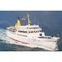 BALTIC STAR ex HELGOLAND, Seebäder und Lazarettschiff. 1963