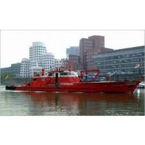 DÜSSELDORF. Feuerlöschboot