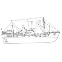 AACHEN BB 5 (1948). Fischdampfer