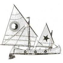 EL MUNDIEL. Segeltrawler, Küstenfischer