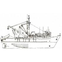 ALBATUN. Fischereifahrzeug. Trawler (1974)