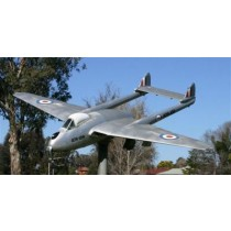 DE HAVILLAND D.H. 100 VAMPIRE FB5 (Spannweite 680 mm), Jagdflugzeug, Royal Air Force