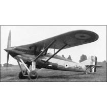 WESTLAND WIZARD, Jagdflugzeug, Royal Air Force 1929