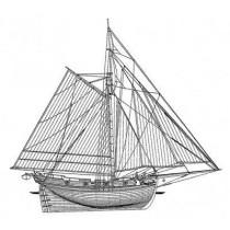 ALDEBARAN. Kutter, Royal Navy 1790