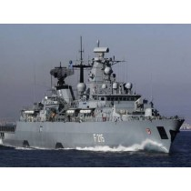 BRANDENBURG (F215). Fregatte Klasse 123. Bundesmarine