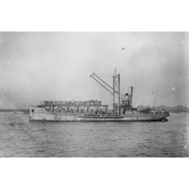 HMS SLINGER. Katapultschiff. Royal Navy 1918