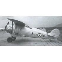 IMAM, Industrie Meccaniche Aeronautiche Meridionali, ROMEO RO 41. Jagdflugzeug. Regia Aeronautica, Luftwaffe