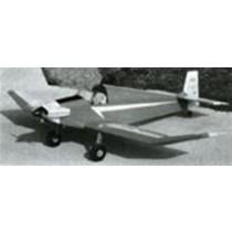JODEL BÉBÉ D-9, einsitziges Sportflugzeug. Frankreich.