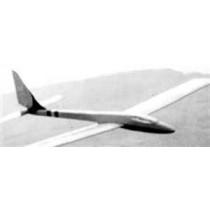 KEMA 84. Segelflugzeugmodell