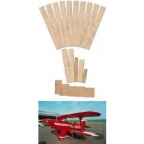 PITTS SPECIAL S-2A (1396 mm). Laserteile ohne Plan