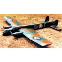ARMSTRONG WITHWORTH WHITLEY (Spannweite 1220 mm). BOMBER