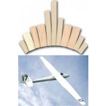 SLINGSBY SAILPLANES Ltd. T-41 SKYLARK 2 (Spannweite 2750 mm). Laserteile ohne Plan