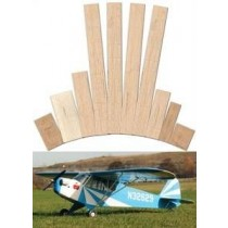PIPER J-3 CUB CLIPPED WING (Spannweite 1420 mm). Laserteile ohne Plan