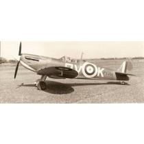 SUPERMARINE SPITFIRE Mk. IA (Spannweite 1753 mm). Jagdflugzeug.