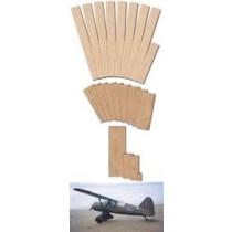 WESTLAND LYSANDER (Spannweite 2057 mm). Laserteile ohne Plan