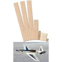 ARROW (Spannweite 908 mm). Laserteile ohne Plan.