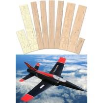 RAZOR 90 (Spannweite 1270 mm). Laserteile ohne Plan