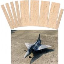 DASSAULT Mirage 2000 BC (Spannweite 990 mm). Laserteile ohne Plan.