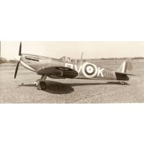 SUPERMARINE SPITFIRE Mk. IA (Spannweite 1753 mm). Canopy