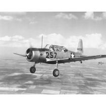 VULTEE BT-13 VALIANT (Spannweite 1867 mm). Schulflugzeug, US Air Force, USN-1948