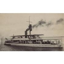 SMS VATERLAND. Flusskanonenboot, China, Kaiserliche Marine 1918 bis 1932