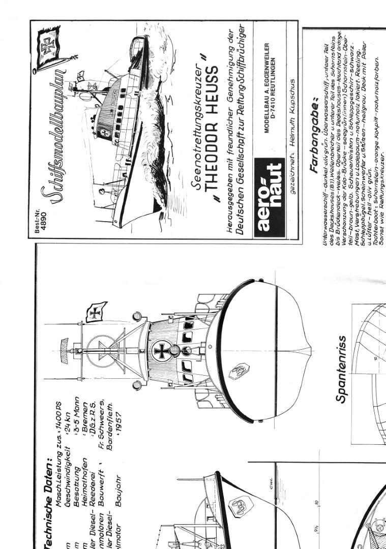 Bauplan Eagle Modellbau Modellbauplan